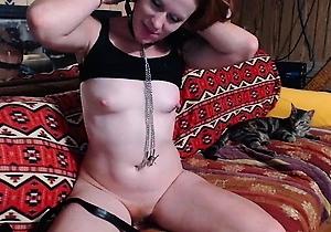 fingered,masturbating,redhead japanese,sexy japanese,webcam,