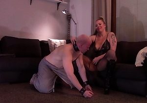 anus licking,mistress,pussy,realm japanese cuckold,rimming,strapon,