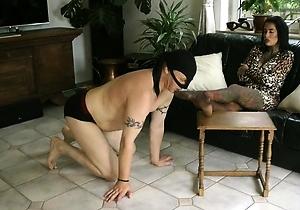 feet fetish,female domination,foot fetish,hd videos,mistress,nylon,pantyhose,stockings,