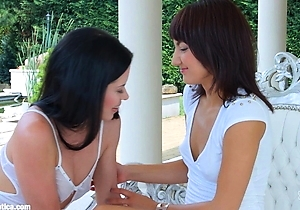 dildos, hd videos, japan lesbians, masturbating, outdoors, strapon,