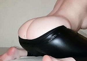 female domination,foot fetish,hd videos,leather,leggings,pantyhose,
