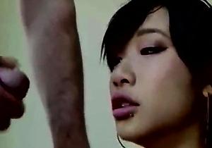 blowjob,home sex,interracial,japanese deep throat,