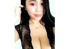 ebony,japanese with big boobs,masturbating,