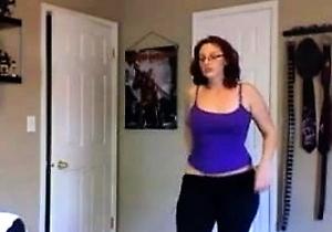 american,booty,dancing,huge ass,japan amateur,natural tits,redhead japanese,webcam,