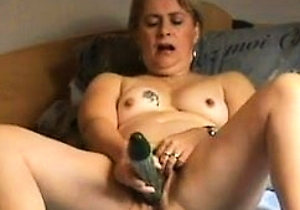cucumber,japan mature,masturbating,nipples,orgasm,pussy,