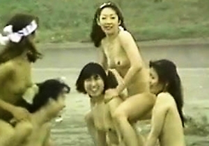 dancing, enjoing, japan group sex, nude japanese, public, sexy japanese,