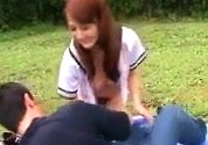 dressing, japan students, jav, outdoors,