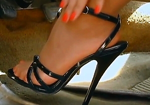 close up, feet fetish, flashing, foot fetish, hd videos, heels, japan amateur, nylon, outdoors, pantyhose, stockings,