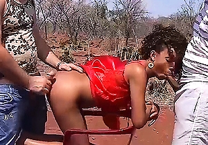 african, big dick, doggystyle fuck, orgy, outdoors, sex, threesome  sex,