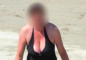 hd videos, japan amateur, japan mature, japanese with big boobs, natural tits, on the beach, voyeur,