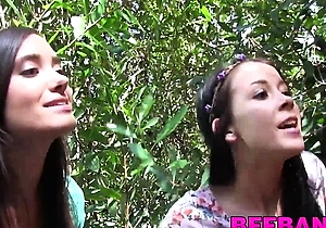 big dick,blowjob,creaming,cumshots,doggystyle fuck,hd videos,in the forest,outdoors,threesome  sex,young japanese,