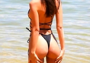 bikini, hd videos, on the beach, outdoors,